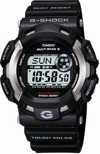 CASIO (カシオ) 腕時計 G-SHOCK GULFMAN タフソーラー 電波時計 MULTIBAND5 GW-9100-1JF