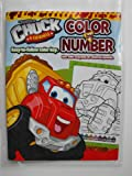 Tonka Chuck and Friends Color By Number Coloring Book. Heat Sealed in Copyrighted Labeled Sleeve