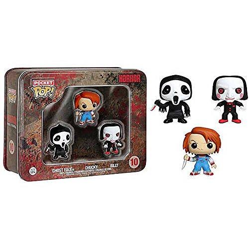 Pocket POP Horror 3-Piece Set, Ghostface, Chucky, Billy, Multi (Chucky Doll For Sale Cheap)