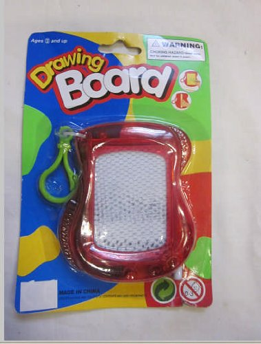 Kid's Drawing Board Keychain for Ages 3 and Up