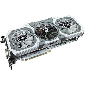 GALAX GF PGTX980/4GD5 HOF 白色基板の超OCモデル GeForce GTX 980搭載グラフィックスボード