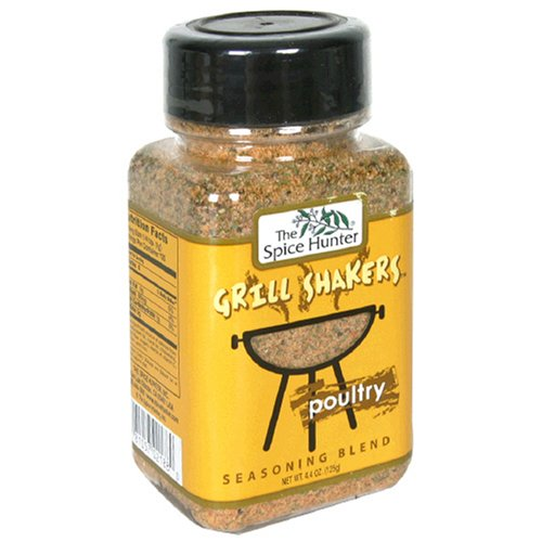 Spice Hunter Grill Shakers Poultry, 4.4-Ounces (Pack of 6)