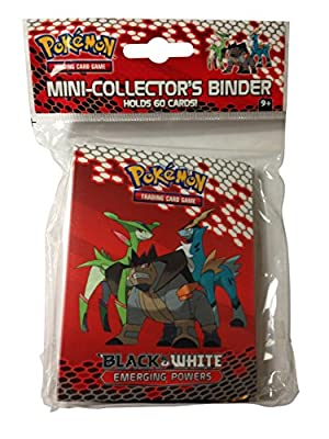 Pokemon Card Mini Binder/Album from Black & White: Emerging Powers (With 3-card Pack!)
