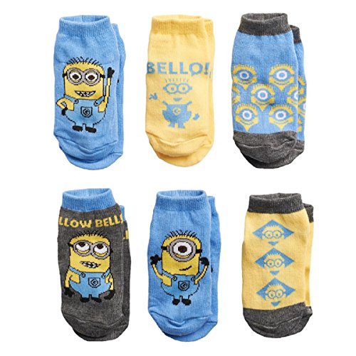 Minions Toddler Socks 2t-4t