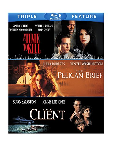 Time to Kill / Pelican Brief / The Client [Blu-ray]