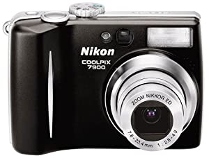Nikon Coolpix 7900 7 MP Digital Camera with 3x Optical Zoom