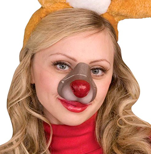 Forum Novelties Reindeer Nose, One Size