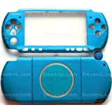 Carnival Blue PSP 3000 Series Full Shell Cover Housing Replacement with Button Set