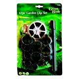 61 Piece Garden Plant Clip Set. Ideal For Securing Plants, Garden Netting etc