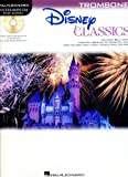 Hal Leonard Disney Classics Instrumental Play Along Book & CD Trombone (Trombone)