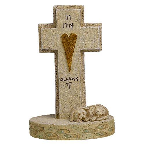 Grasslands Road Dog Memorial Cross, 5-Inch