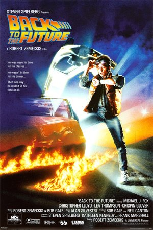 Movies Posters: Back To The Future - One Sheet - 91x61cm