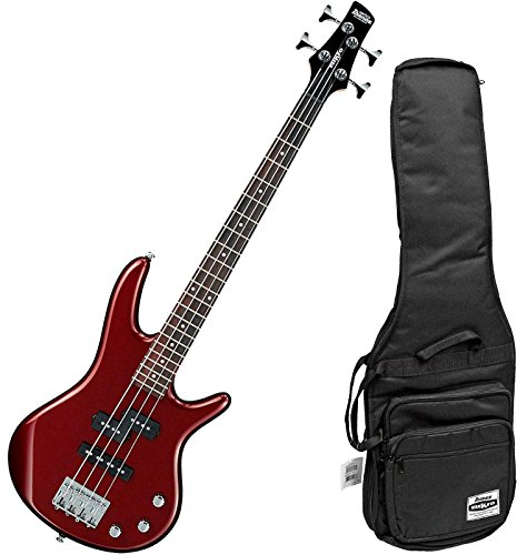 Ibanez Mikro GSRM20 Transient Scale 4 String Root Beer Metallic Bass with Gig Bag