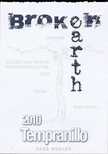 2010 Broken Earth Tempranillo Paso Robles 750 Ml