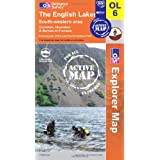 The English Lakes - South Western Area (OS Explorer Map Active)by Ordnance Survey