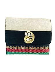 Craftstages Women's Handbags (SB209) (BLACK)