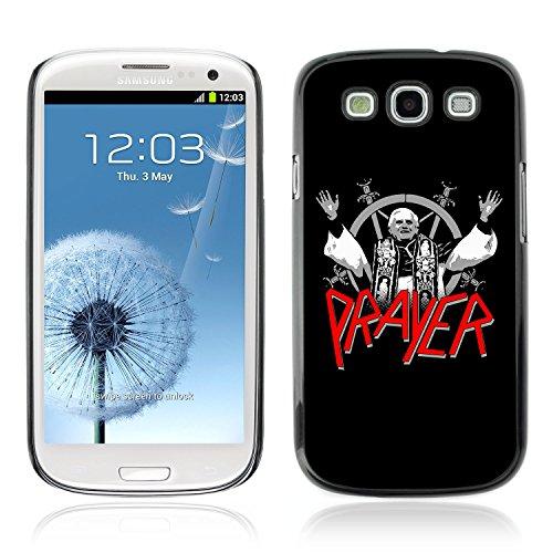 CASETOPIA / Funny Slayer Spoof Illustration / Samsung Galaxy S3 I9300 / Premio Sottile Slim Cassa Custodia Case Bandiera Cover Armor PC Aluminium