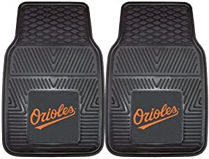 MLB - Baltimore Orioles Heavy Duty 2-Piece Vinyl Car Mats by Fanmats