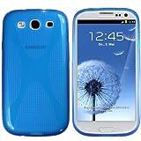 "mumbi X-TPU Silikon Schutzh�lle f�r Samsung Galaxy S3 i9300 halbtransparent blauvon ""mumbi"""