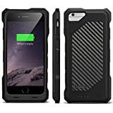 [Apple-Certified] EasyAcc® MFI 3500 mAh iPhone 6 Battery Charger Case (4.7 inches), Protective External iPhone 6 Charging Case, iPhone 6 Extended External Battery Pack Power Bank, Rechargeable Battery Case for iPhone 6,Black