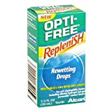 Opti-Free Replenish Rewetting Drops, 0.33 Fl Oz (10 Ml) (Pack Of 3)