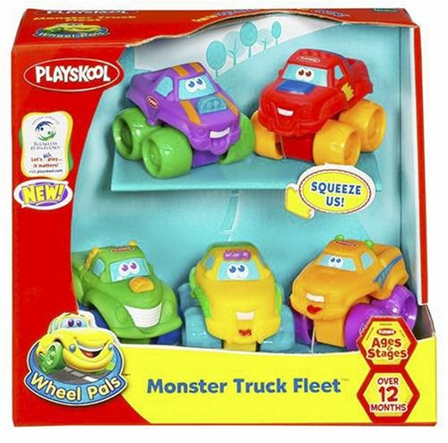 Playskool Wheel Pals Monster Truck Fleet - Buy Playskool Wheel Pals Monster Truck Fleet - Purchase Playskool Wheel Pals Monster Truck Fleet (Hasbro, Toys & Games,Categories,Play Vehicles,Trucks & SUV's,Monster Trucks)