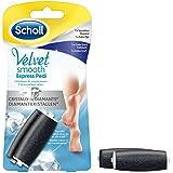 SCHOLL Rouleaux Velvet Smooth aux Cristaux de Diamants - 1 x Grain Extra Exfoliant + 1 x Sensation douceur