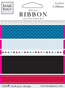 Fiskars Heidi Grace Designs Ribbon Card Midnight Kisses