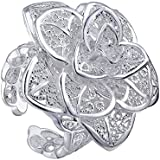 VIKI LYNN Silver-plated Fashionable Rings and 925 sterling silver toe rings Delicate Design Various Styles For Elegant Young Ladies. Quick To Snap Up!