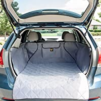 Frontpet Quilted Dog Cargo Cover For SUV Universal Fit For Any Animal. Durable Liner Covers And Pro