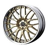 【トヨタ 86(ZN6)2012~】 ホイール:WEDS マーベリック 709M_サムライゴールド 8.0-18 5/100 タイヤ:LUCCINI Buono Sport 225/40R18 (18インチ アルミホイールセット)