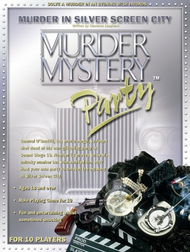 Murder Mystery Party - Murder in the Silver Screen