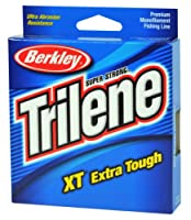 Berkley Trilene XT Monofilament Filler Spool (12-Pound,Tough Red) from Berkley