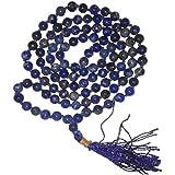 Aldomin Lapis Lazuli 108 Bead Healing Crystal Mala