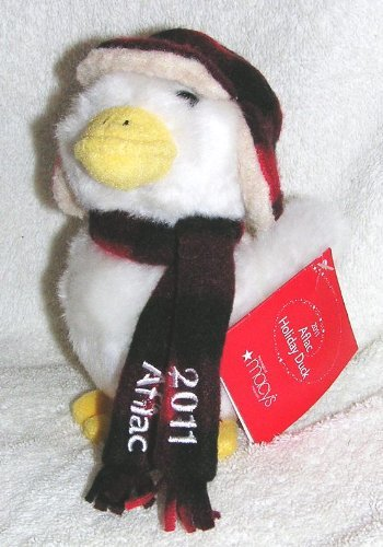 2011-christmas-6-plush-talking-aflac-holiday-duck-with-plaid-hat-and-scarf-from-macys-by-holiday-lan
