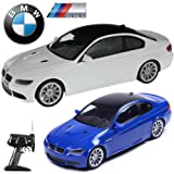 Official Licensed CM-2111 1:14 BMW M3 Motorsport Coupe Radio Controlled RC Electric Car - Ready to Run EP RTR - Blue / White (White)