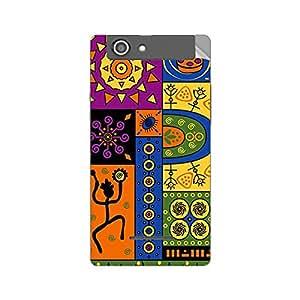 Garmor Designer Mobile Skin Sticker For XOLO A500S - Mobile Sticker