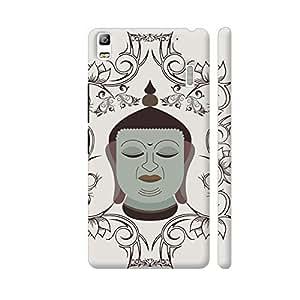 Colorpur Gautam Buddha Art In Illustration Artwork On Lenovo K3 Note Cover (Designer Mobile Back Case) | Artist: Designer Chennai