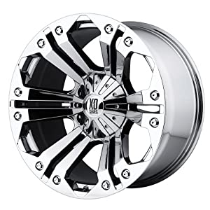"KMC Wheels XD Series Monster XD778 Chrome Wheel (24x10""/6x135mm)"