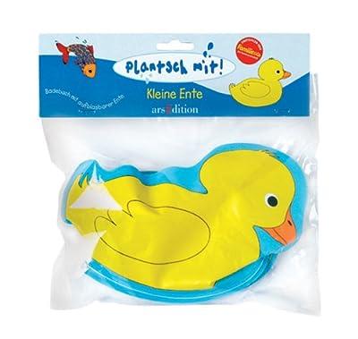 Plantsch Mit Kleine Ente Badebuch Badebuch Mit Aufblasbarer Ente bei aufblasbar.de