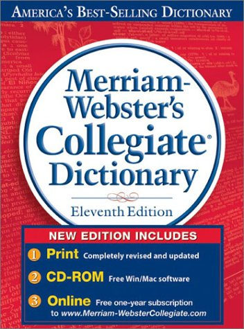 Merriam-Webster's Collegiate Dictionary, 11th Edition thumb