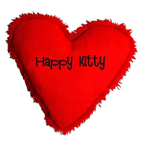 Good Yeowww Hearrrt Attack Catnip Toy, Happy Kitty