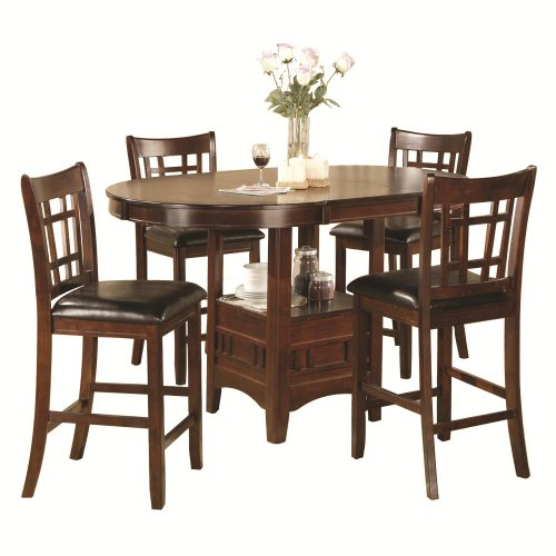 Cheap 5 Piece Dining Set: Home Source Industries Jacksonville 5-Piece Pub Dinette