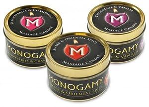 MONOGAMY MASSAGE CANDLE 3 PACK