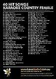 Best Female Country Hits - Sunfly Karaoke DVD