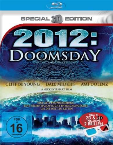 2012 Doomsday (3D-Special Edition) [Blu-ray]