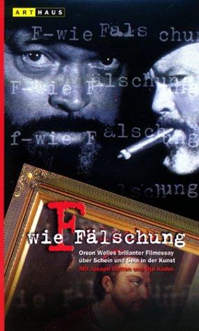 F wie Fälschung [VHS]