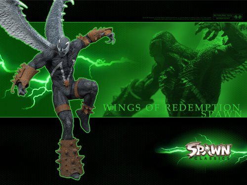 SPAWN WINGS OF REDEMPTION - Spawn Series 34: SPAWN CLASSICS Ultra Action Figure (Omega Spawn compare prices)