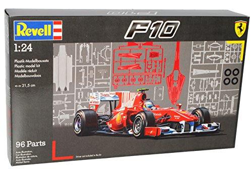 Ferrari F10 F 10 Fernando Alonso Felipe Massa 2010 Formel 1 F 07099 7099 Bausatz Kit 1/24 Revell Modellauto Modell Auto
