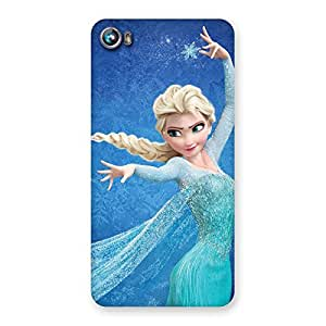 Premium Angel And Cutness Back Case Cover for Micromax Canvas Fire 4 A107